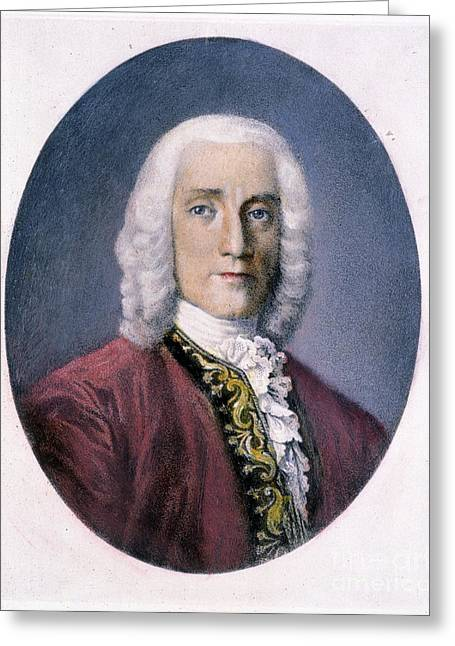 18th Century Greeting Cards - Domenico Scarlatti Greeting Card by Granger