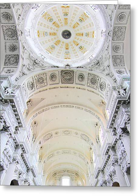 Cupola Greeting Cards - Domus Dei Greeting Card by Marc Huebner