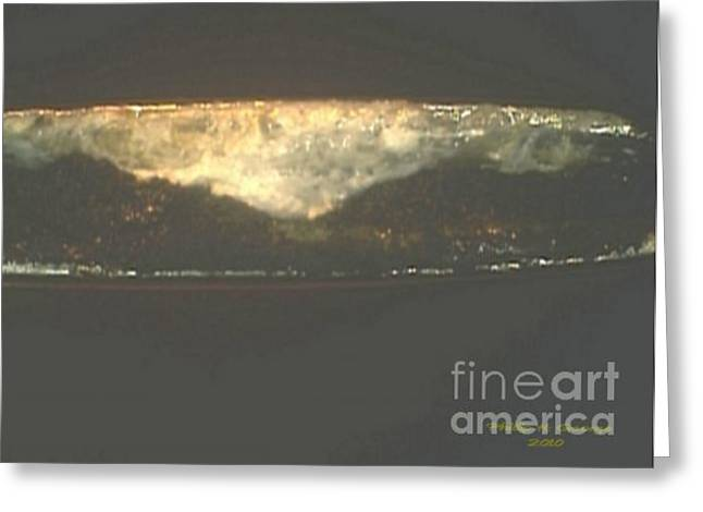 Americana Micro Art Greeting Cards - Donee New River Thundercloud Greeting Card by Phillip H George