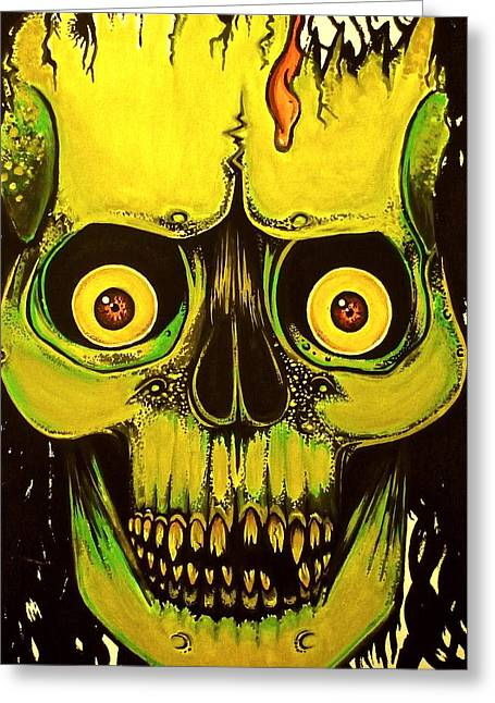 Megadeth Greeting Cards - Dont Be Afraid Greeting Card by Elaine Alonzo