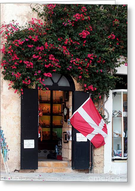 Nature And Landscape Photography Greeting Cards - Doorway Malta Greeting Card by Tom Prendergast