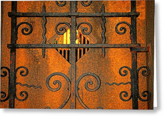 Doorway to Death Greeting Card by Paul Ward