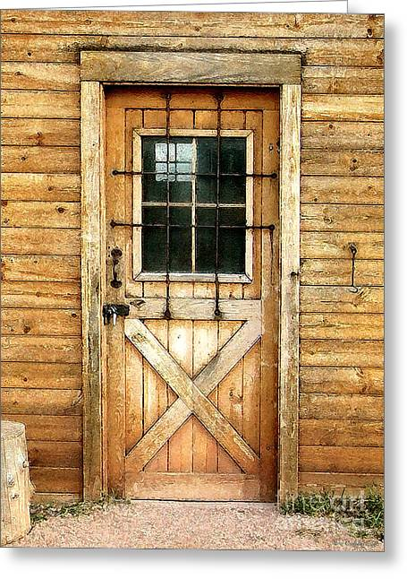 Cristopher Ernest Greeting Cards - Doorway to Yesterday Greeting Card by Cristophers Dream Artistry