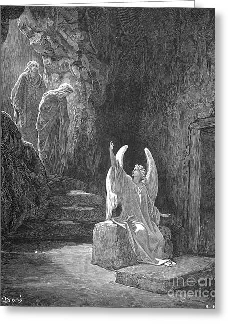 Dore Greeting Cards - DorÉ: Resurrection Greeting Card by Granger