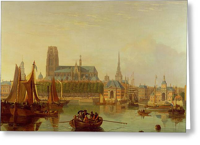 Yachting Greeting Cards - Dordrecht  Greeting Card by Joseph F Ellis