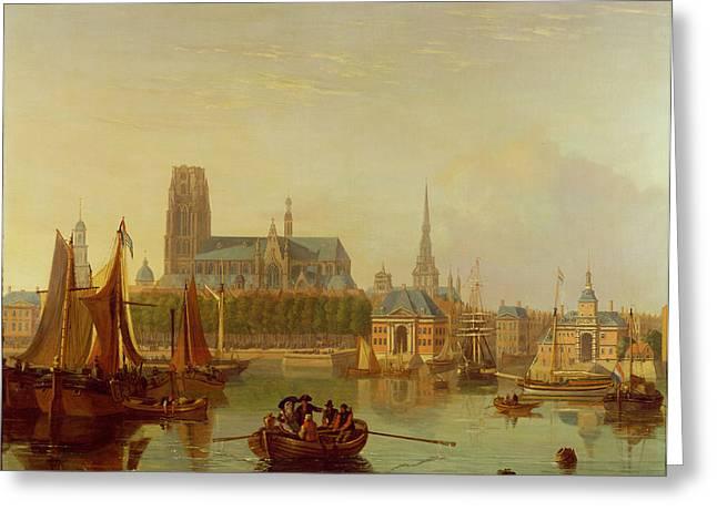 Flemish Greeting Cards - Dordrecht  Greeting Card by Joseph F Ellis