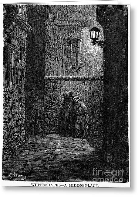 Dore Greeting Cards - Dore: London, 1872 Greeting Card by Granger