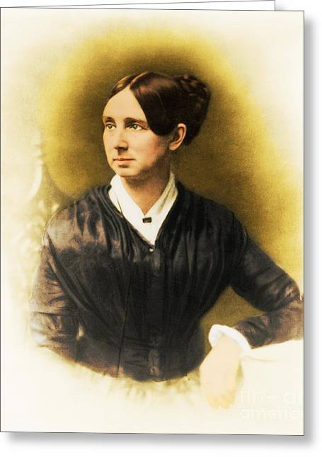 Reformer Photographs Greeting Cards - Dorothea Dix, American Reformer Greeting Card by Photo Researchers