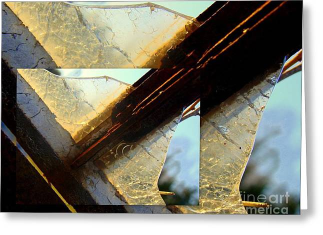 Gastonia Photographs Greeting Cards - Double Jointed  Greeting Card by Tammy Cantrell