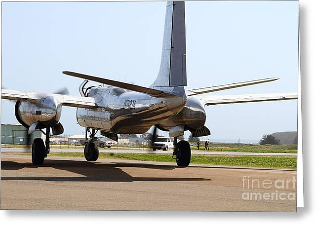 Douglas A26B Military Aircraft 7d15764 Greeting Card by Wingsdomain Art and Photography