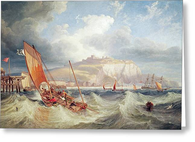 68 Greeting Cards - Dover Greeting Card by John Wilson Carmichael