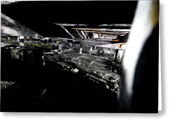 Down Below Greeting Card by Mike Lindwasser Photography