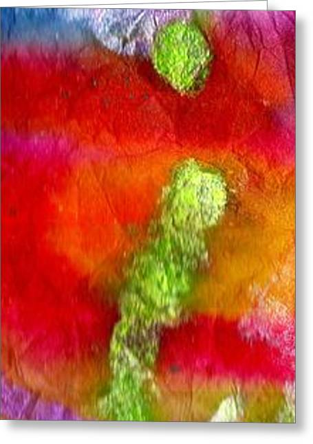 Survivor Art Greeting Cards - Down by the Pond Greeting Card by Angela L Walker