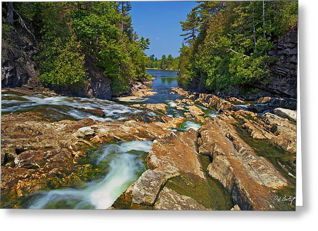 Bedrock Greeting Cards - Down the Bonnechere Greeting Card by Phill  Doherty