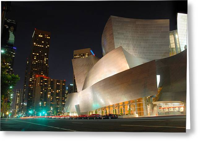 Down Town Los Angeles Greeting Cards - Downtown Los Angeles Greeting Card by Dung Ma