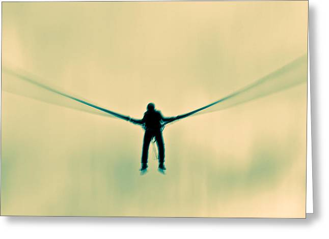 Surrealism Greeting Cards - Dragonfly Greeting Card by Justin Albrecht