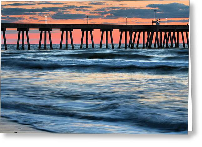 Wrightsville Beach Greeting Cards - Drama Class Greeting Card by JC Findley