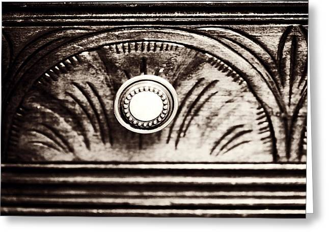 Hob Greeting Cards - Drawer Knob Greeting Card by Marilyn Hunt