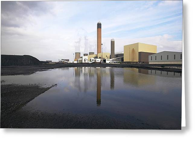 Most Photographs Greeting Cards - Drax Coal-fired Power Station, Uk Greeting Card by Colin Cuthbert