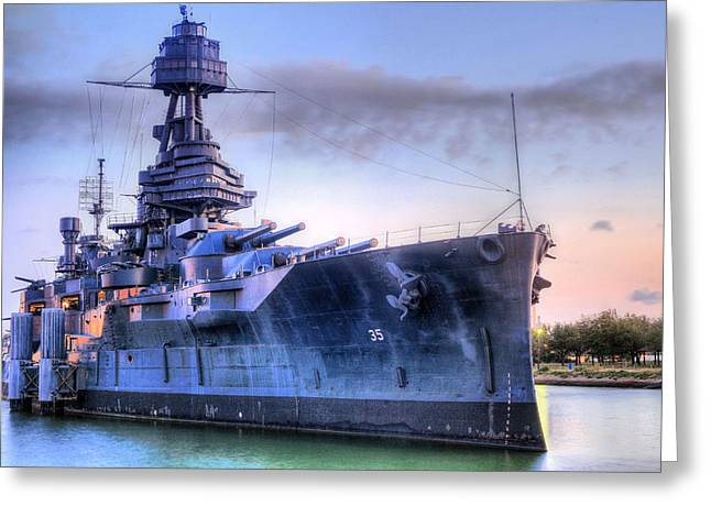 Ww1 Greeting Cards - Dreadnought Greeting Card by JC Findley