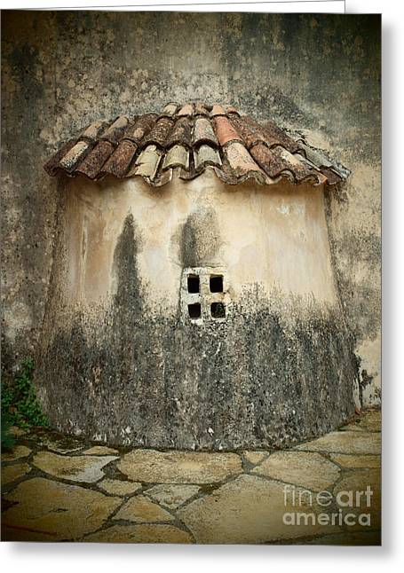 Photo-realism Pyrography Greeting Cards - Dream church Greeting Card by Thomas Maes