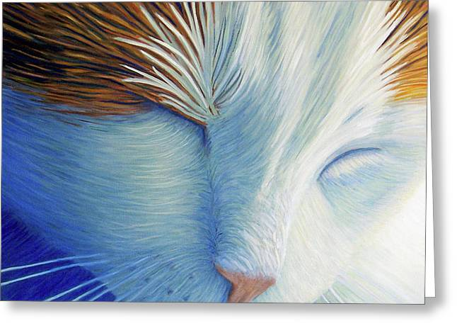 Dream Within A Dream Greeting Card by Brian  Commerford