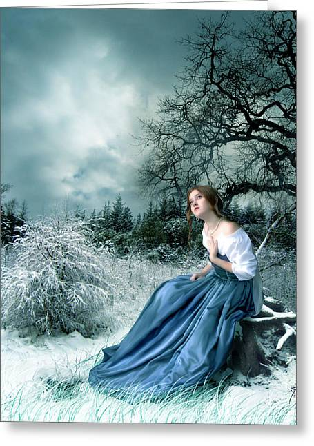 Dreamer Greeting Card by Julie L Hoddinott
