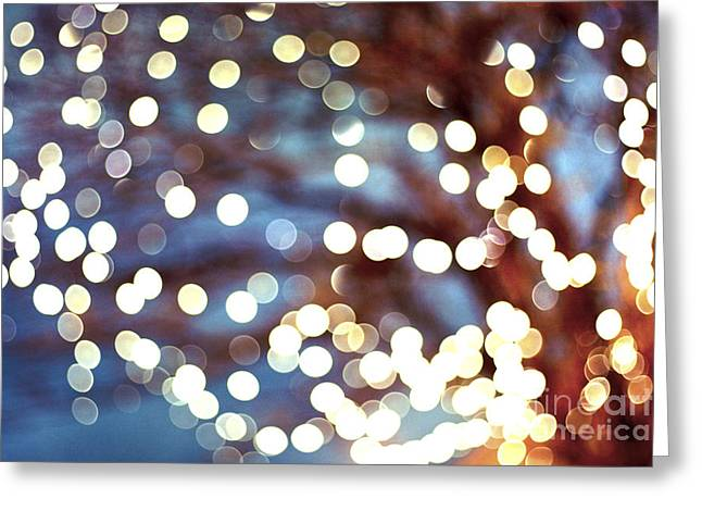 Twinkle Greeting Cards - Dreamland Greeting Card by Violet Gray