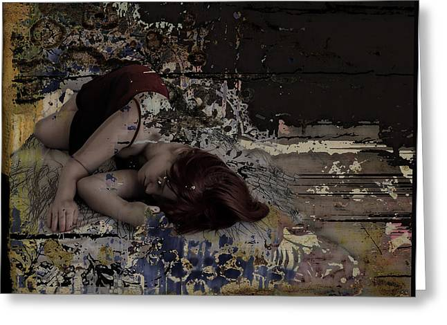 dreams amongst driftwood Greeting Card by Adam Kissel
