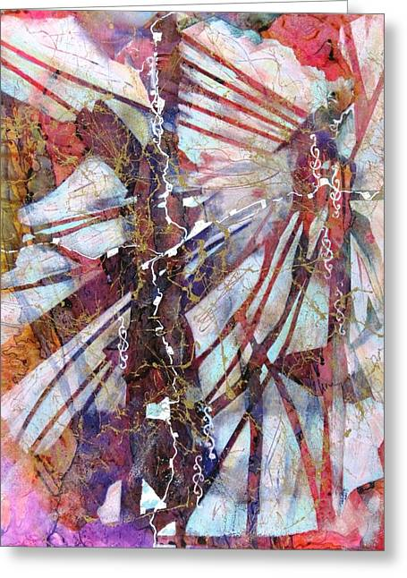 Boardroom Mixed Media Greeting Cards - Dreams Journey Greeting Card by David Raderstorf