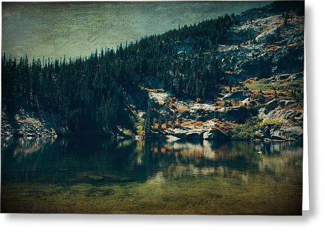 Angora Lakes Greeting Cards - Dreams That Die Greeting Card by Laurie Search