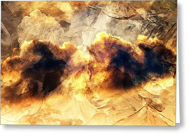 Oniric Greeting Cards - Dreamy Clouds Greeting Card by Andrea Barbieri