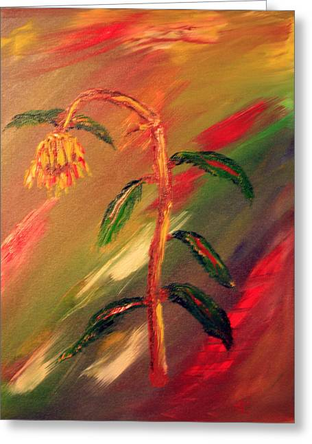 Dregs Of Summer Greeting Card by James Bryron Love