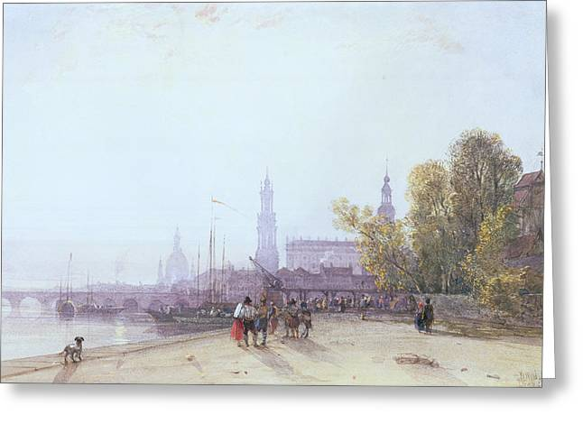 Dresden Greeting Card by William Wyld