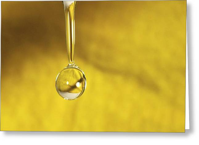 Dripping Tap Greeting Card by Photostock-israel