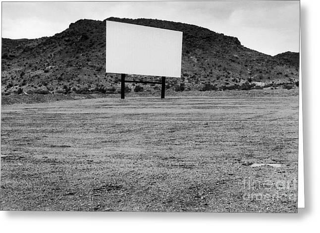 Open Air Theater Greeting Cards - Drive In Movie Theater  Greeting Card by Homer Sykes