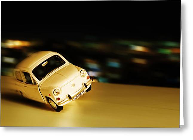City Lights Greeting Cards - Drive safe Greeting Card by Ivan Vukelic