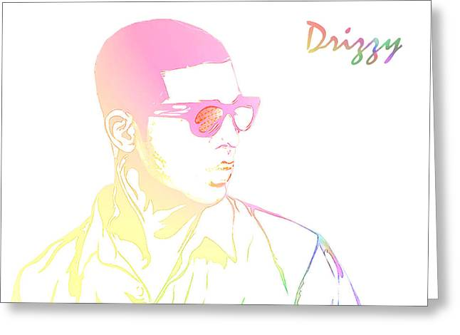 Drizzy  Greeting Card by The DigArtisT