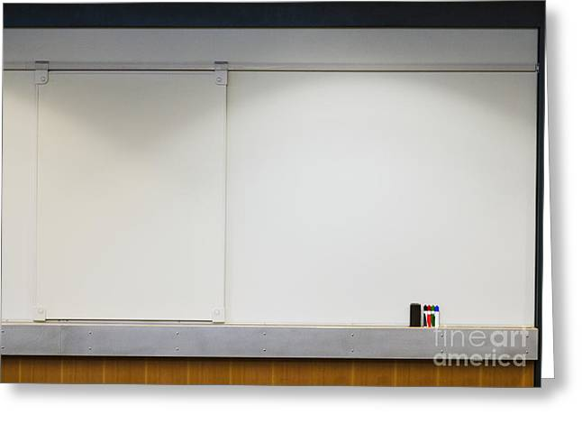 """""""meeting Room"""" Greeting Cards - Dry Erase Board Greeting Card by Andersen Ross"""