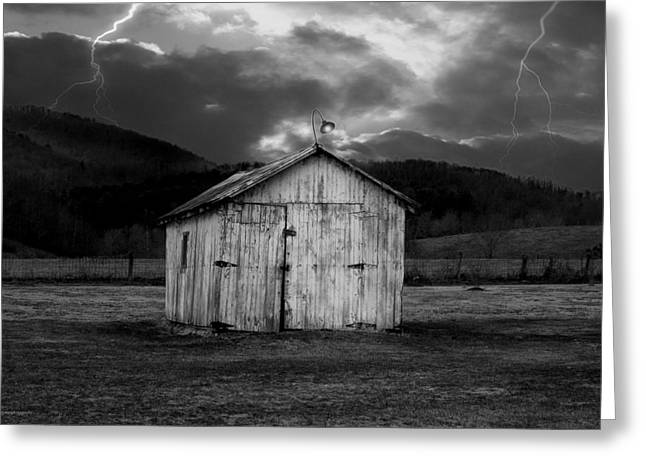 Dry Storm Greeting Card by Ron Jones