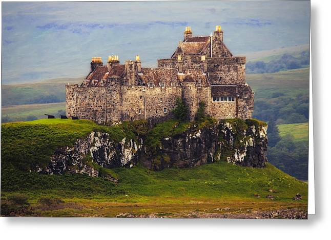 Entrapment Greeting Cards - Duart Castle Greeting Card by Wade Aiken