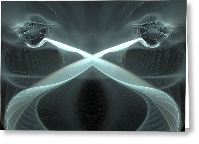 Dubstep Greeting Cards - Dubstep 12 Greeting Card by Michele Caporaso
