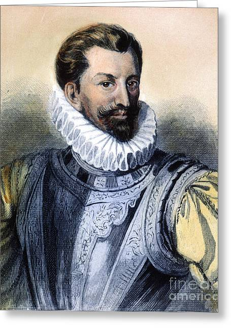 Guise Greeting Cards - Duc De Guise, Henry I Greeting Card by Granger