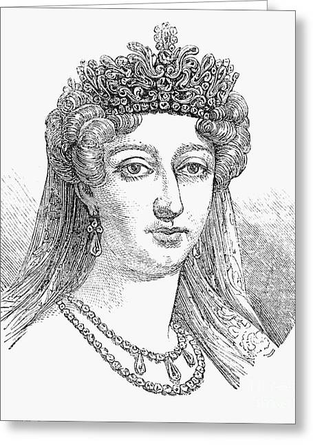 Charlotte Greeting Cards - Duchess Of AngoulÊme Greeting Card by Granger