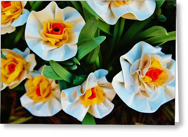 Laura Grisham Greeting Cards - DuckTapeSpring Greeting Card by Laura  Grisham