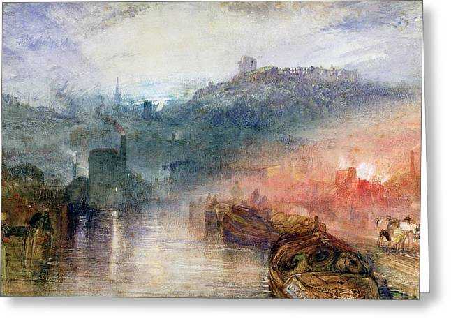 Romanticism Greeting Cards - Dudley Greeting Card by Joseph Mallord William Turner