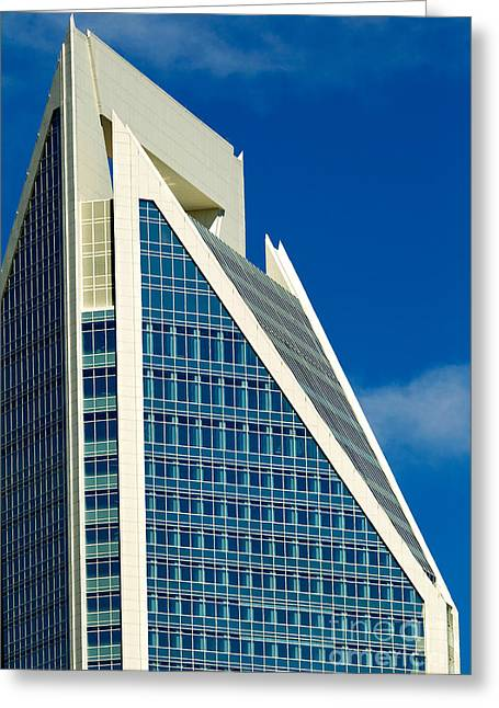 Digital Photo Charlotte Nc Greeting Cards - Duke Energy Tower Greeting Card by Patrick Schneider