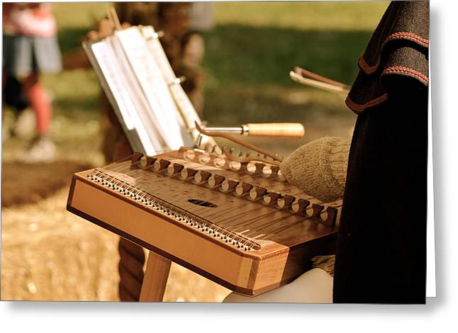 Music History Greeting Cards - Dulcimer Delight Greeting Card by Staci-Jill Burnley