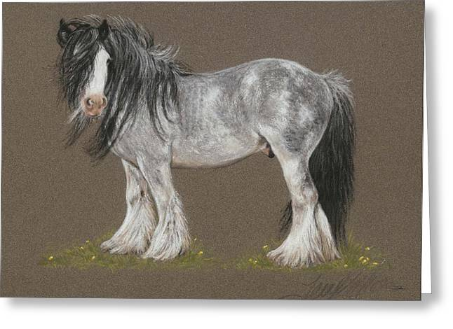 Stallion Pastels Greeting Cards - Dunbroody Greeting Card by Terry Kirkland Cook