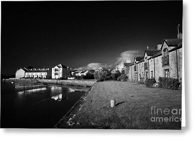 Restore The Shore Greeting Cards - Dundrum Bay Shoreline Quay County Down Northern Ireland Greeting Card by Joe Fox